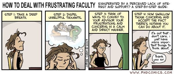 Frustrating Faculty